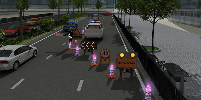 Anti-Intrusion Warning System for Police